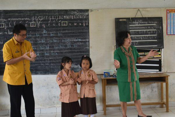 Kegiatan OPD Mengajar di SDN Inpres Ranteba'tan